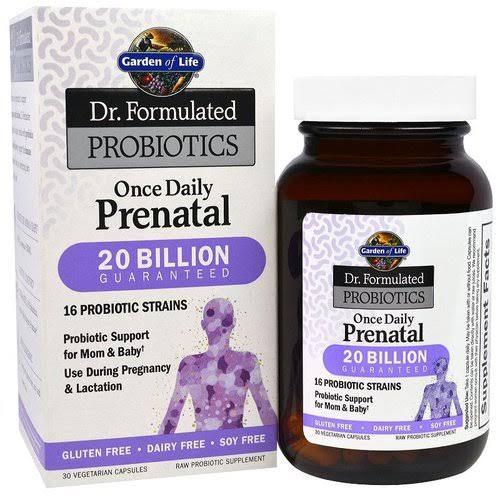 Garden of Life Dr. Formulated Probiotics Once Daily Prenatal - 30 Vegetarian Capsules