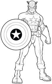 Civil War Coloring Book Plus Color Series Unbelievable Captain Marvel Pages