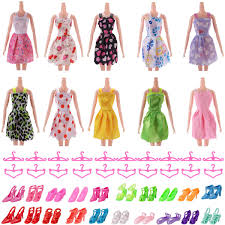 Amazoncom Lots 50 Pcs Doll Accessories Set10 Pcs Princess Dress