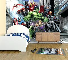 Wall Mural Decals Cheap by Marvel Heroes Wall Decals Wall Ideas Superhero Wall Mural