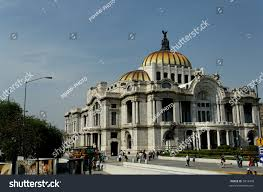 Famous Mexican Mural Artists by Palace Fine Arts Mexico Citys Premier Stock Photo 5814499