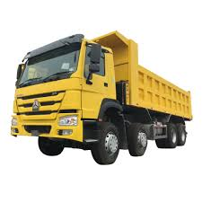100 End Dump Truck Sinotruk Howo A7 1620 Cubic Meters 6x4 10 Wheels 336hp 371hp