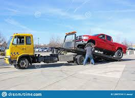 100 Truck Bed Ramp Recovery Being Loaded Editorial Photo Image Of Truck