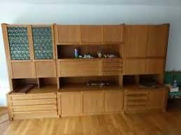 details zu wohnzimmer wandschrank massivholz teakholz siehe beschreibung mit rechnung