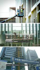 stick glass curtain wall for building facade with design and