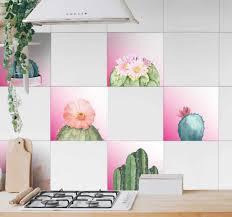wandtattoo wohnzimmer kaktus arten