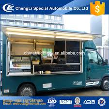 100 Snack Truck Customized Karry High Quality Dining Van Mobile Food