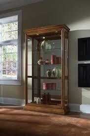 Pulaski Furniture Curio Cabinet by Clockway Pulaski Manchester Curio Cabinet Solid Wood In Golden
