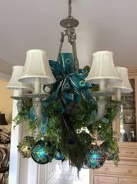 Hobby Lobby Burlap Christmas Tree Skirt by Best 25 Peacock Christmas Decorations Ideas On Pinterest