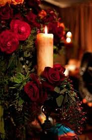 Red Roses And Candlelight