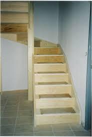 escalier 1 4 tournant menuiserie gratacos