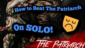Killing Floor Patriarch Trophy by How To Beat The Patriarch Solo Killing Floor 2 Youtube