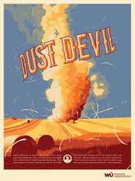 100 Wundergrou Nd Dust Devil WUnderPoster 42315 Weather Amazing