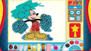 Mickey Mouse Color And Play Clubhouse Disney 3D Cartoon Game