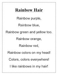 Best 25 Rainbow Poem Ideas On Pinterest