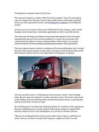 Trucking Jobs Louisiana Await LA Port Case | Supreme Court Of The ... Hunts Point Clean Trucks Program Gna Creative Port Feudal Toyota Rolls Out Hydrogen Semi Ahead Of Teslas Electric Truck Ports Of Long Beach Los Angeles Customer Profile Advent Intermodal Tnsporation Service Port Brochureindd World News Usa Seattle Port Readies Awarded 50 Mln For Zero Emissions Project Offices Now Available The Northwest Seaport Vacuum Services Waste Disposal Herigecrystal A Major Us Hub For Global Trade Ppt Download Third Amended Interlocal Agreement Between The Of Seattle And