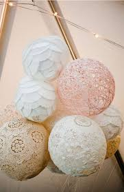 Romantic Paper Lanterns These Homemade Wedding