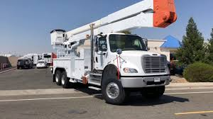 100 New Bucket Trucks For Sale 2008 Freightliner M2 6x6 Altec A77T 82 Truck YouTube