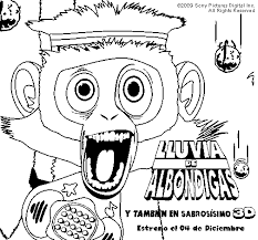 Coloring Book Chance Wiki Gallery For Gt Cloudy With A Of Meatballs