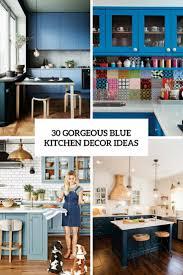 Gorgeous Blue Kitchen Decor Ideas Cover