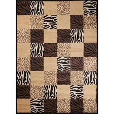 Animal Print 7 X 10 Area Rugs Rugs The Home Depot