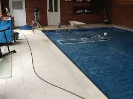 removing rust stains from anti slip swimming pool tiles in naseby