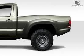 100 Fiberglass Truck Fenders Bulge Rear Toyota 0515 2 Pcs 80x23x41x7