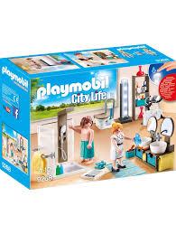 playmobil konstruktionsspielzeug badezimmer klingel