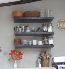 Accessories On Kitchen Shelves