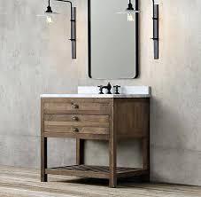 Restoration Hardware Bathroom Vanity Single Sink by Vanities Restoration Hardware Shutter Vanity Sink Restoration