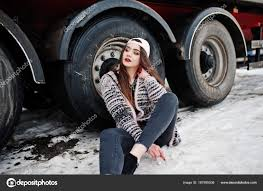 Brunette Stylish Casual Girl In Cap Sitting Against Truck Wheels ... Little Girl Standing In A Truck Bed Stock Photo Offset Caucasian Sitting On Chair Near And Knitting Stock Beautiful Country Girl On Back Of Pickup Truck Image Driving Photo Royalty Free 1005863314 Freightliner Promo Girls Melbourne Show Russell Flickr Larry Quicks Ghost Ryder Monster Shannon Quickgirl Power Farmer Denver Food Trucks Roaming Hunger Trucks And Girls 2014 Ronto Truck Show Youtube A Her Commercial Driver License Traing Pretty Brunette Young Woman And Big Picture View Scooter Waving Hand Chef