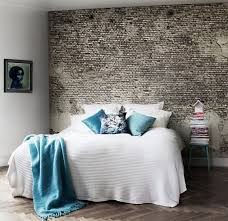 Bedroom With Beautiful Exposed Brick Walls