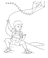 Free Printable Pictures Of Children Flying Kites