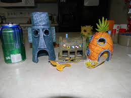 Spongebob Fish Tank Accessories by Spongebob Tank Decorations A Photo On Flickriver