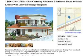 Craigslist 3 Bedroom Houses For Rent by Obviously Fake Craigslist Housing Ad Is Obviously Fake Curbed