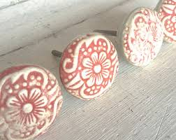 Pink Vintage Dresser Knobs by Metal Drawer Pulls Drawer Pull Handles French Country
