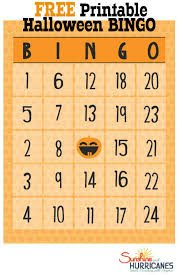 Free Printable Halloween Potluck Signup Sheet by Halloween Printable Bingo Sheets U2013 Fun For Halloween