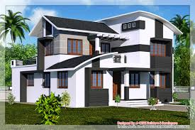 100 Triplex House Designs Awesome Victorian Style Plans In Kerala For New Homes Model