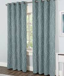 Tommy Hilfiger Curtains Special Chevron by Dkny Whitestone Branches Road Pocket Curtains 100 Cotton 50 By 96