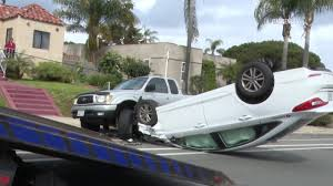 100 Truck Stop San Diego Car Hits Parked Flips 02212019 YouTube