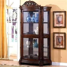 Rooms To Go China Cabinet Half Round Curio E Mango Dining Room Furniture With