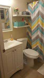 Guest Bathroom Decor Ideas Pinterest by Small Bathroom Update Less Than 100 Lowe U0027s And Hobby Lobby