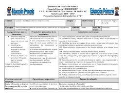 Planeaciones del quinto grado del segundo bloque del ciclo escolar