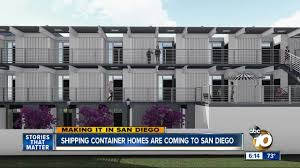 100 Shipping Container Apartments Making It In San Diego Container Homes To Be Built In San