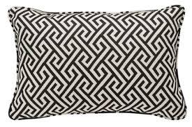 casa padrino luxus kissen schwarz weiß 40 x 60 cm wohnzimmer deko