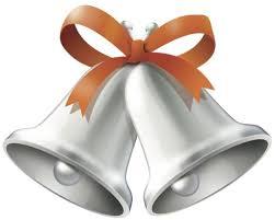Bell clipart golden wedding 2