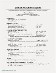 Good Resume Examples Luxury Unique For Highschool Students Jobs