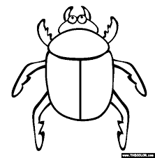 Insect Online Coloring Pages