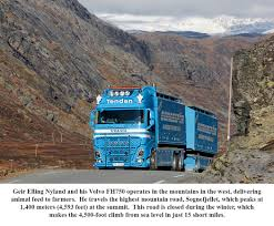 Trucking In Norway | 10-4 Magazine