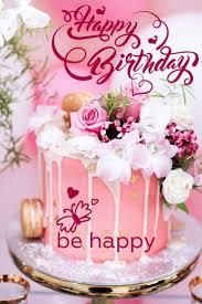 32 tolles bild happy birthday cake und blumen